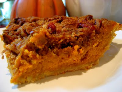 pumpkin ginger pie