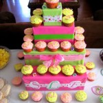 Homemade Tiered Cupcake Stand