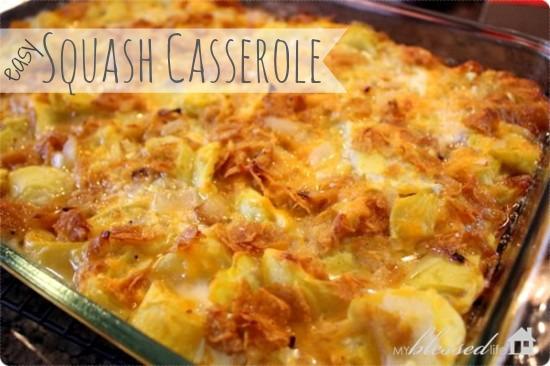 Easy Squash Casserole