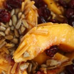 Peach-Cranberry Salad