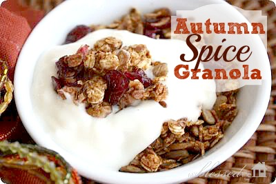Autumn Spice Granola Recipe
