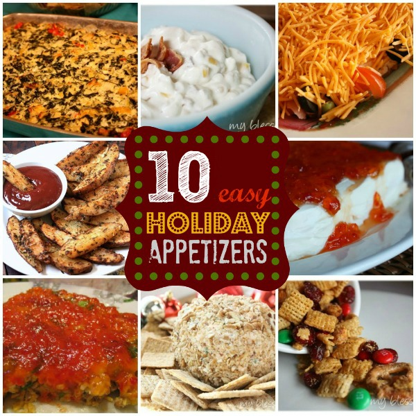 10 Easy Holiday Appetizers