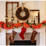 Creating A Magical Christmas Mantel