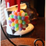 Gum Drop Pomander Ornament {Tutorial}