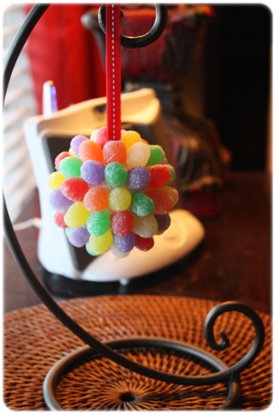 DIY Gumball Ornament