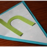Homemade Pennant Birthday Banner {Tutorial}