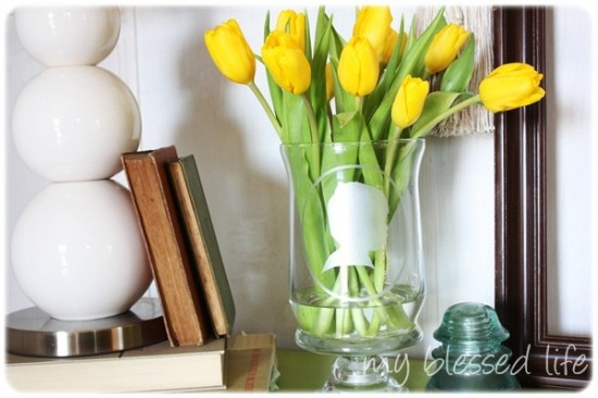 Frosted Silhouette Vase