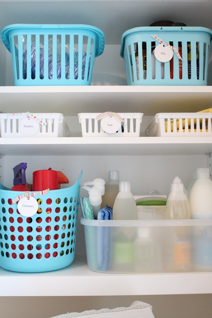 fabulous laundry room organizing tips from just a girl i m