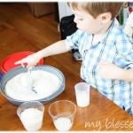 Frugal Toddler Activity: Rice Play