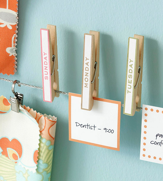 7 clothespin craft ideas for Diy organization crafts