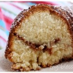 Cinnamon-Laced Sour Cream Pound Cake