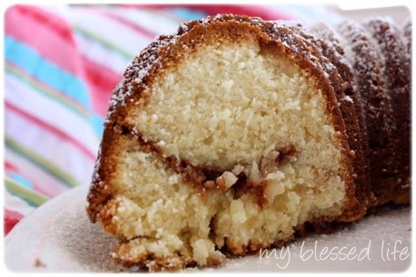 Cream Cheese  Up Pound Cake Recipe