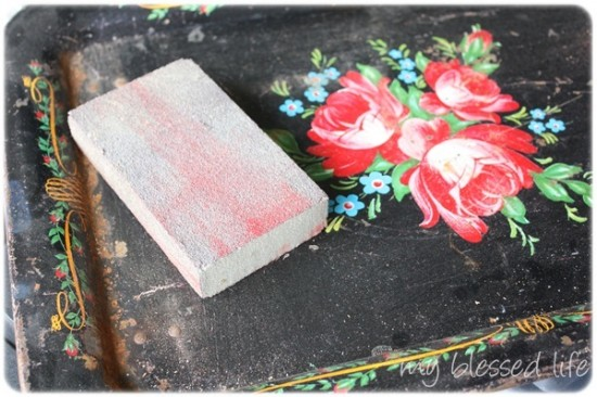 Vintage Lap Tray Makeover
