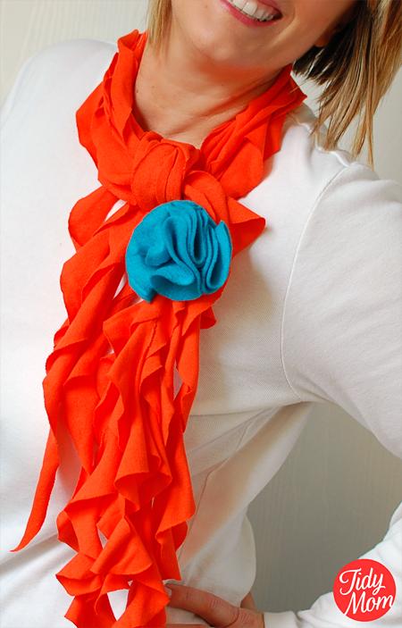 10 t shirt scarf tutorials