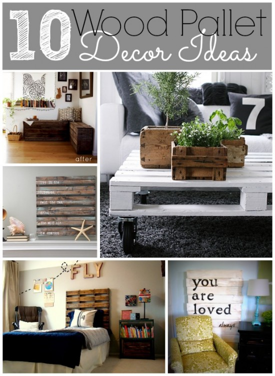 10 Wood Pallet Decor Ideas