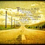 Trust. Trust. Trust.