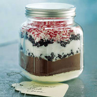 homemade gift in a jar