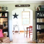 How To Decorate A Bookcase {On The Cheap}