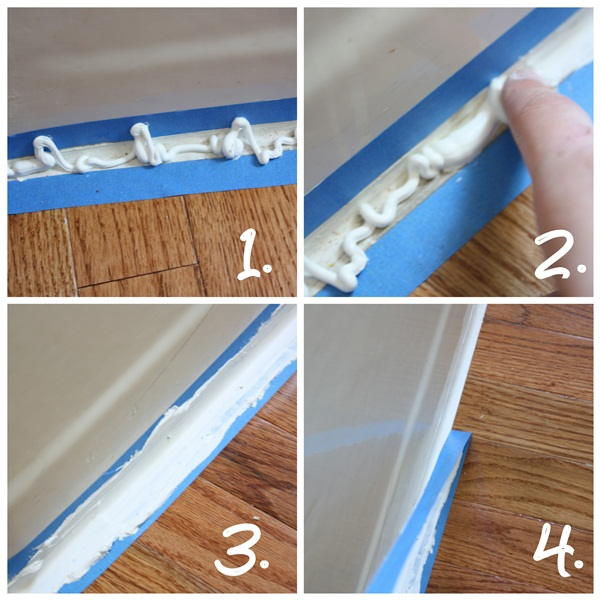 Caulk Straight Line Tutorial