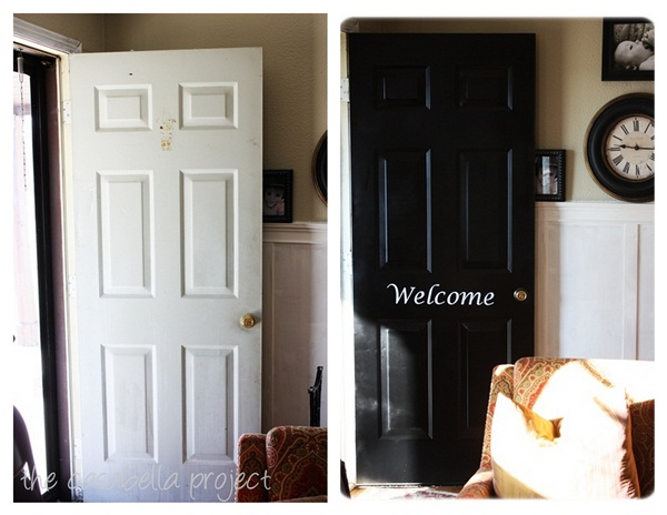 Dont Cheat On Quality Spray Paint Front Door Redo