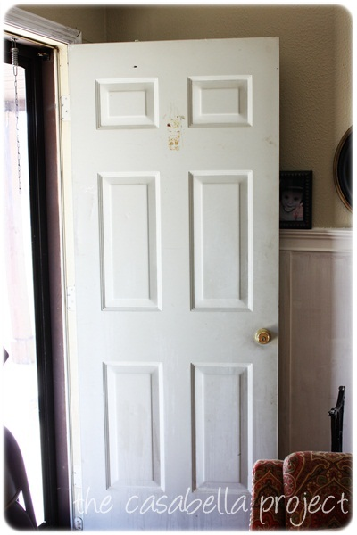 Don t cheat on quality spray paint front door redo for How to spray paint doors