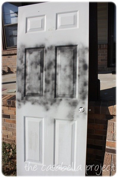 don t cheat on quality spray paint front door redo