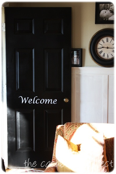 smidge more than one can of rust oleum paint the door looked amazing. Black Bedroom Furniture Sets. Home Design Ideas
