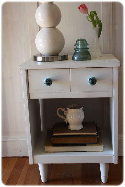 Aspelund Ikea Garderobekast ~ Nesna Nightstand Hack The nightstand turned out!