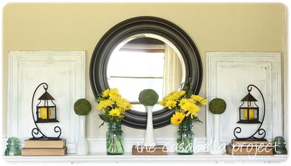 Mantel Decorating Ideas For Summer