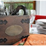 Rustic Wooden Caddy {Giveaway}