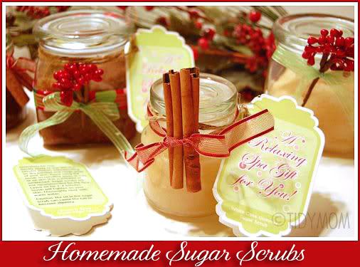 sugar scrub gift