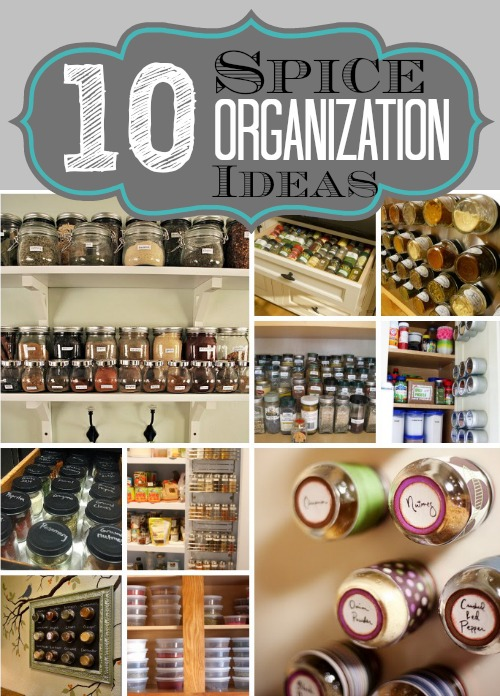 10 Spice Organization Tips My Blessed Life