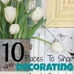 10 Places To Shop For Decorating Your Home On A Budget