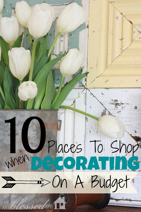 10 places to shop when decorating on a budget