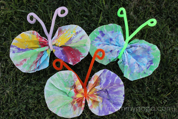 10 spring kids crafts for Spring craft ideas for adults