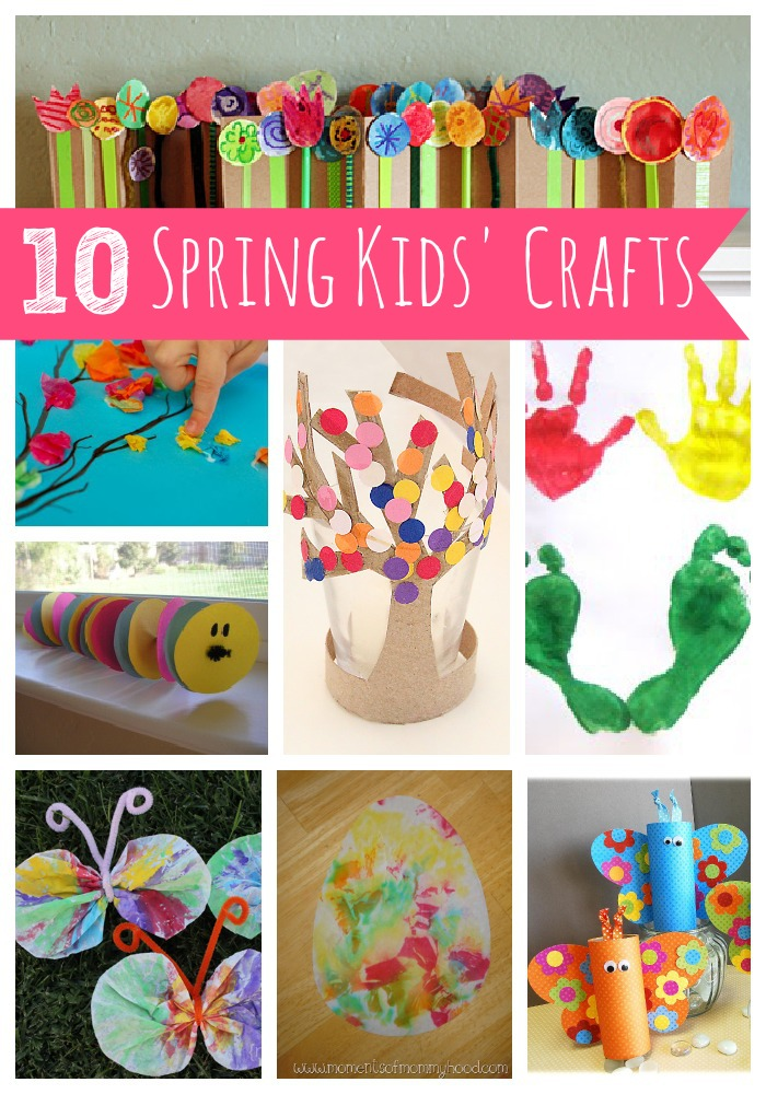 10 Spring Kids Crafts My Blessed Life