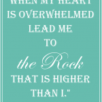 When You're Overwhelmed…