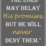 God's Promises…Never Denied