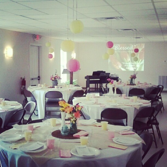 inspiring acts life hot pink bedroom my daughters project   Ladies' Brunch {Party Inspiration}   My Blessed Life™