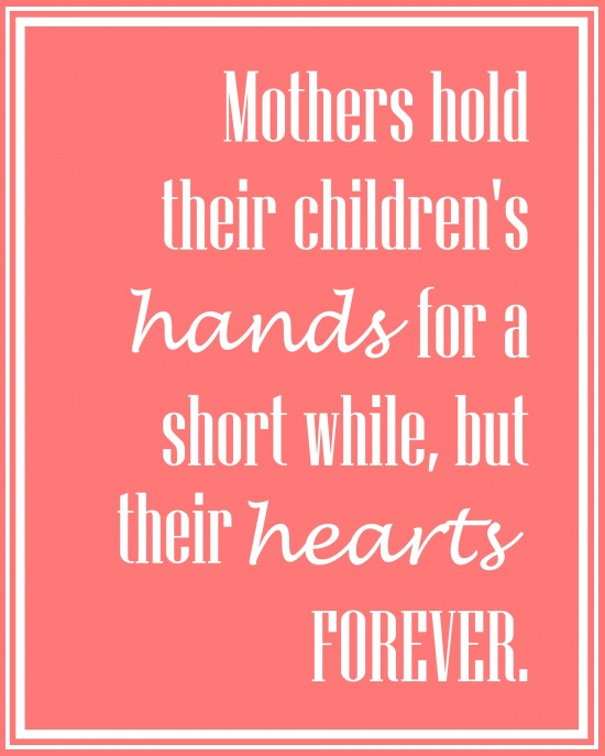 "photo regarding Printable Mothers Day Quotes identify Moms Working day Printable Cost-free My Fortunate Lifeâ""¢"
