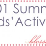 101 Summer Kids' Activities {And FREE Printable}