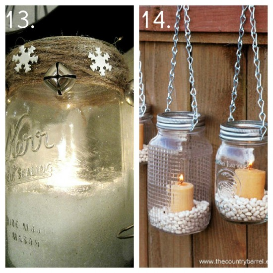 Diy Mason Jar Design Decorating Ideas: 23 Mason Jar Ideas, Mason Jar Decor, Mason Jar Candles