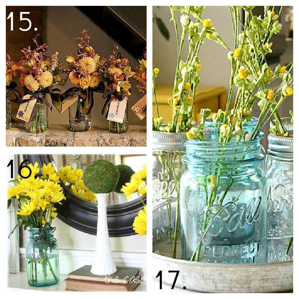 Mason jar ideas decor candles