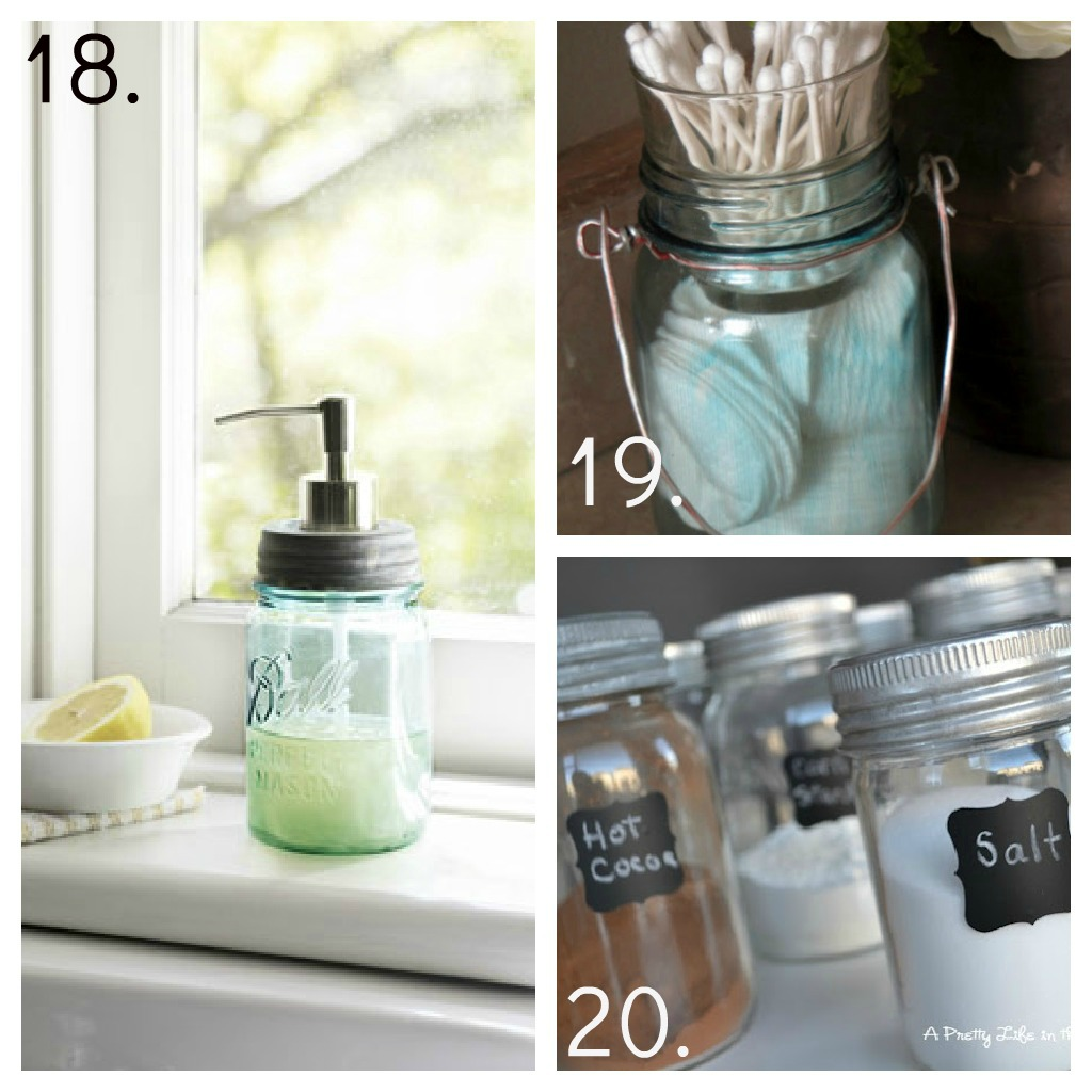 Design Ideas Bathroom Mason Jars ~ Mason jar ideas decor candles