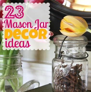 decorating with mason jars burlap for pinterest