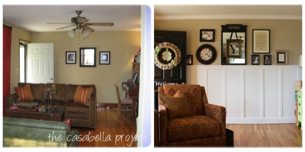 Living Room Renovation Before And After show your colors {before & after inspiration}