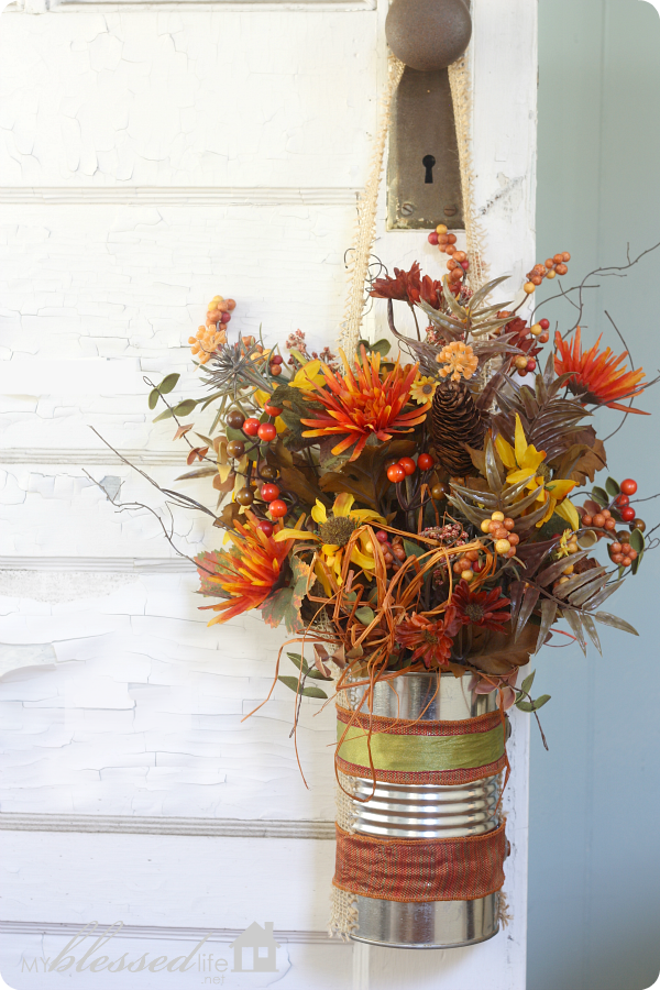title | Fall Floral Front Door Decor
