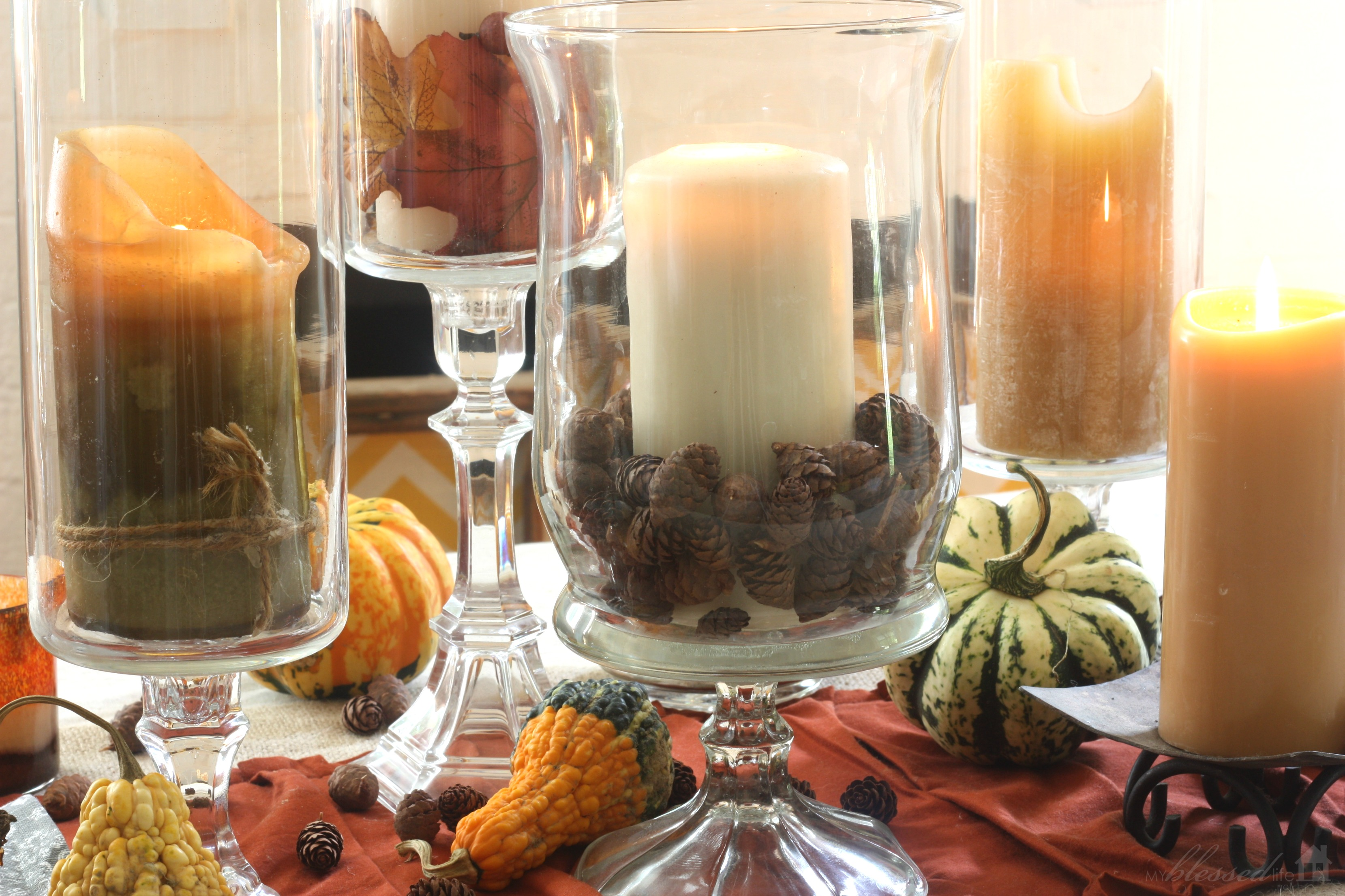 Simple Fall Tablescape My Blessed Life