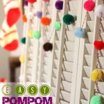 Easy Pompom Garland | MyBlessedLife.net