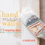 Taking The Guesswork Out Of Wall Decor {Handmade Walls}